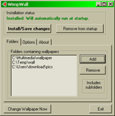 WimpWall screenshot